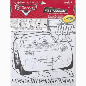 Kleur je puzzel – Cars