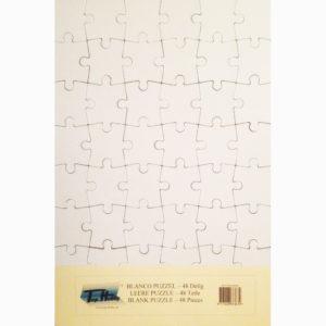 Blanco puzzel – 48 stukjes