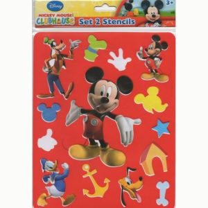 Overtrek stencil – Mickey Mouse