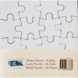 Blanco puzzel – 16 stukjes