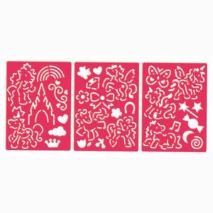 Overtrek stencils – Paarden