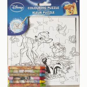 Kleur je puzzel – Bambi
