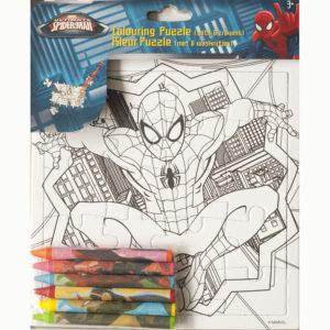 Kleur je puzzel – Spiderman