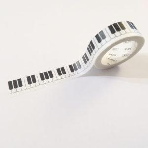 Washi tape – Piano