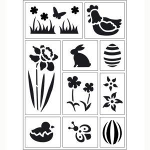 Viva Decor – Flexibel stencil Spring 2