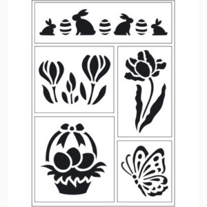 Viva Decor – Flexibel stencil Spring 1