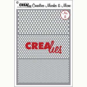 Crealies Flexibel sjabloon – no. 8 Stippen