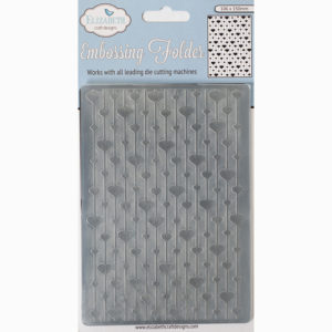 Embossing Folder – Heart Strings