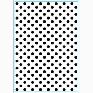 Embossing Folder – Lots of Dots