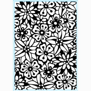 Embossing Folder – Bouquet