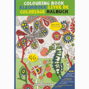 Kleurboek voor volwassenen – Deel 4