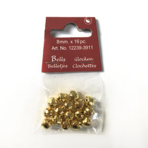 Belletjes – Goud 8mm