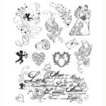 Viva Decor Clear Stamps – Love