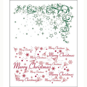 Viva Decor Clear Stamps – Christmas Stars
