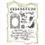 Viva Decor Clear Stamps – Happy Birthday