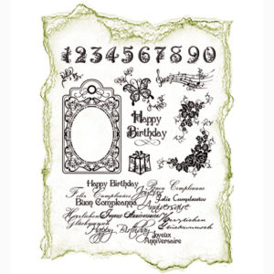 Viva Decor Clear Stamps – Happy Birthday