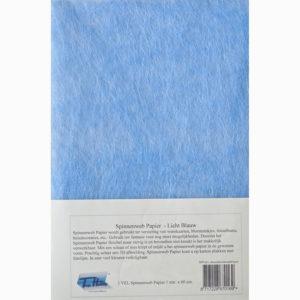 Spinnenwebpapier – Lichtblauw