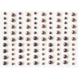 Plakparels – Bruin