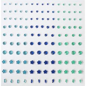 Plakstenen – Blauw / Groen