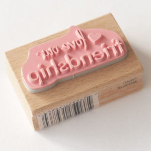 Houten stempel – Love our Friendship