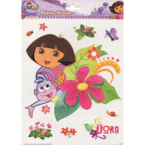Dora poster sticker
