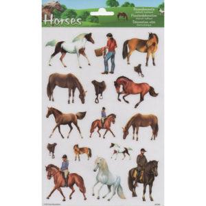 Raamstickers – Paarden