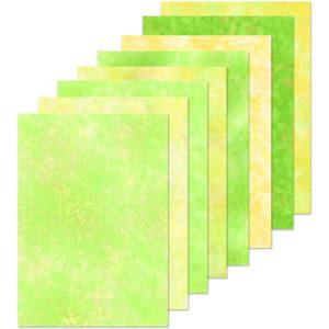 LeaCrea Design papier – Geel en groen