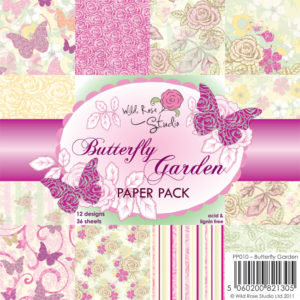 Paperpad – Butterfly Garden
