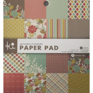 Paperpad – Autumn Flowers