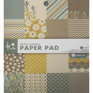 Paperpad – Metro Garden