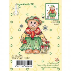 Stempel Bearie's Girl Winter
