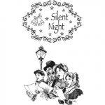 Vintage Stempel – Silent Night