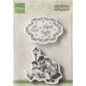 Vintage Stempel – Silent Night
