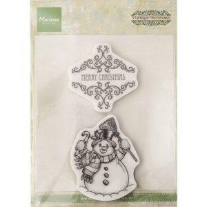 Vintage stempel – Merry Christmas