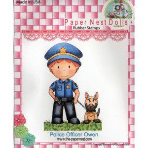 Paper Nest Dolls – Police Officer Owen