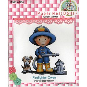 Paper Nest Dolls – Firefighter Owen