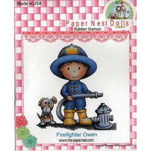 Paper Nest Dolls – Firefighter Owen