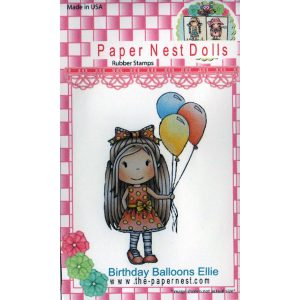 Paper Nest Dolls – Birthday Balloons Ellie