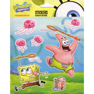 Glow in the Dark stickers – Spongebob